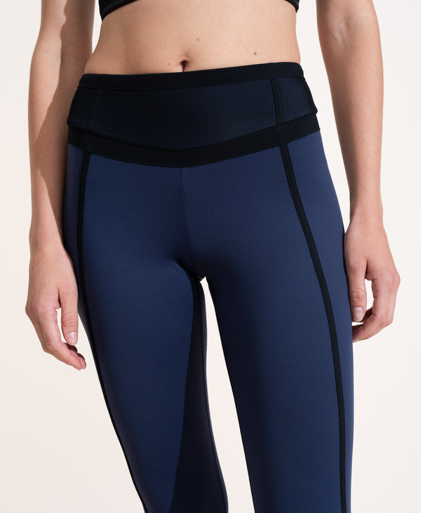 Mara Legging - Navy / Black