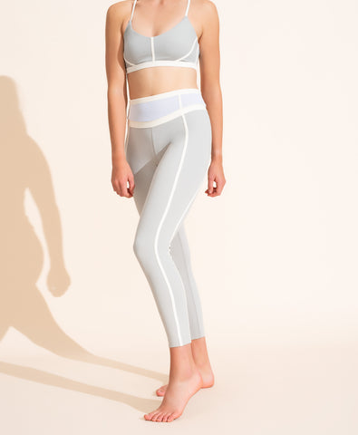 Mara Legging - Grey / Ivory