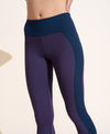 Perform Legging - Purple / Navy