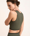 Sophie Crop Top - Olive