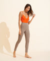 Ilona Bodysuit - Orange / Taupe