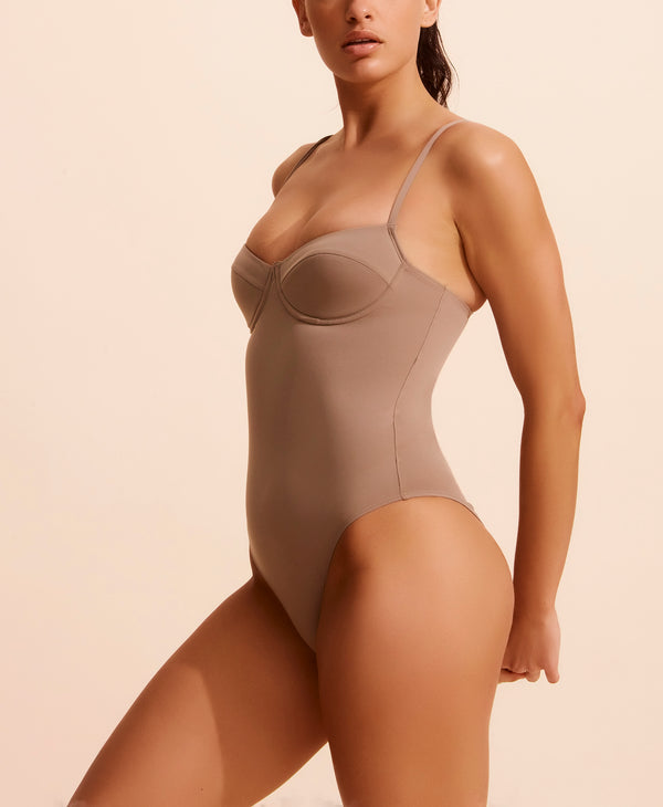 Anais Swimsuit - Taupe