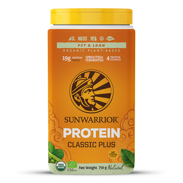 Sunwarrior Classic PLUS Natural 750g (30 Servings)