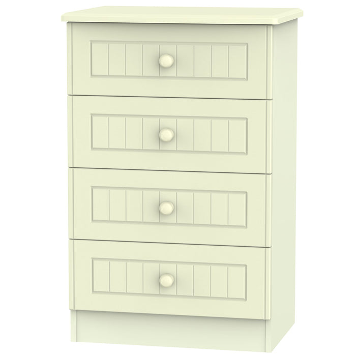 Warwick 4 Drawer Chest - Clearance Factors