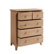 Gatley 2 Over 3 Drawer Chest - Clearance Factors