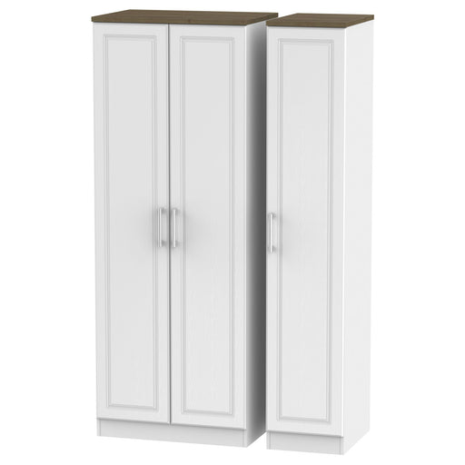 Kent Tall Triple Plain Wardrobe - Clearance Factors
