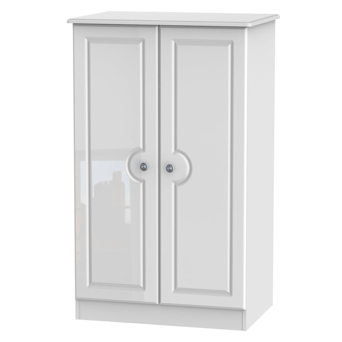 Pembroke 2'6 Plain Midi Wardrobe - Clearance Factors