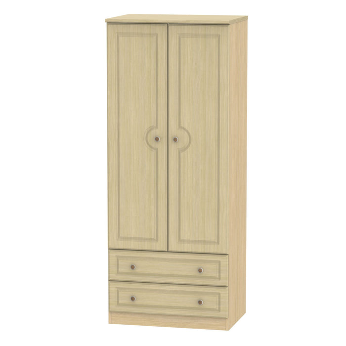 Pembroke 2'6 2 Drawer Wardrobe - Clearance Factors