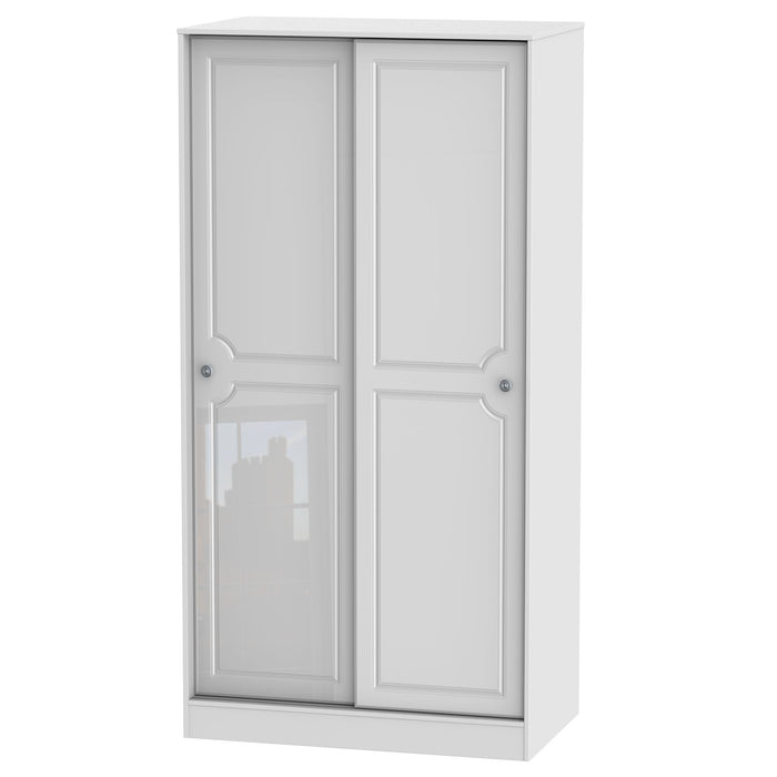 Pembroke 100cm Sliding Wardrobe - Clearance Factors
