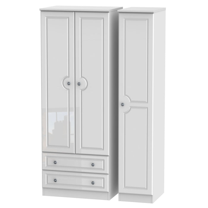 Pembroke Triple 2 Drawer Wardrobe - Clearance Factors