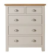 Radley 2 Over 3 Drawer Chest - Clearance Factors