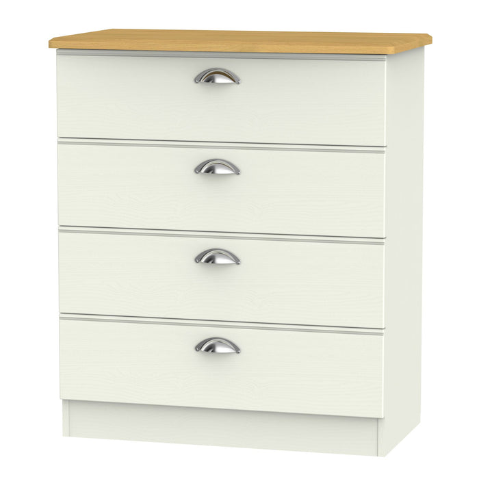 Victoria 4 Drawer Chest - Clearance Factors
