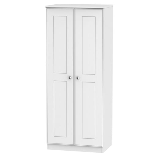 Victoria Tall 2'6 Plain Wardrobe - Clearance Factors