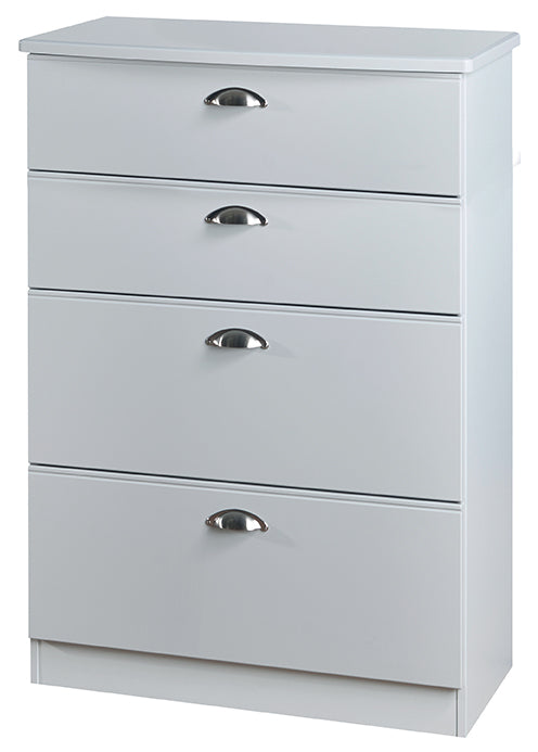 Victoria 4 Drawer Deep Chest - Clearance Factors