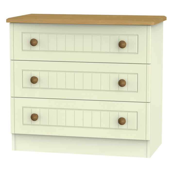 Warwick 3 Drawer Chest - Clearance Factors