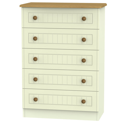 Warwick 5 Drawer Chest - Clearance Factors