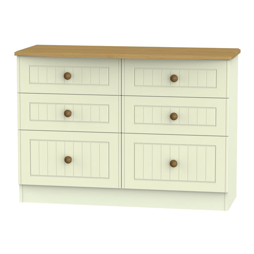 Warwick 6 Drawer Midi Chest - Clearance Factors