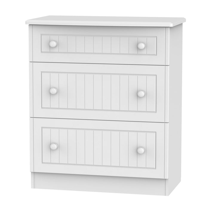 Warwick 3 Drawer Deep Chest - Clearance Factors