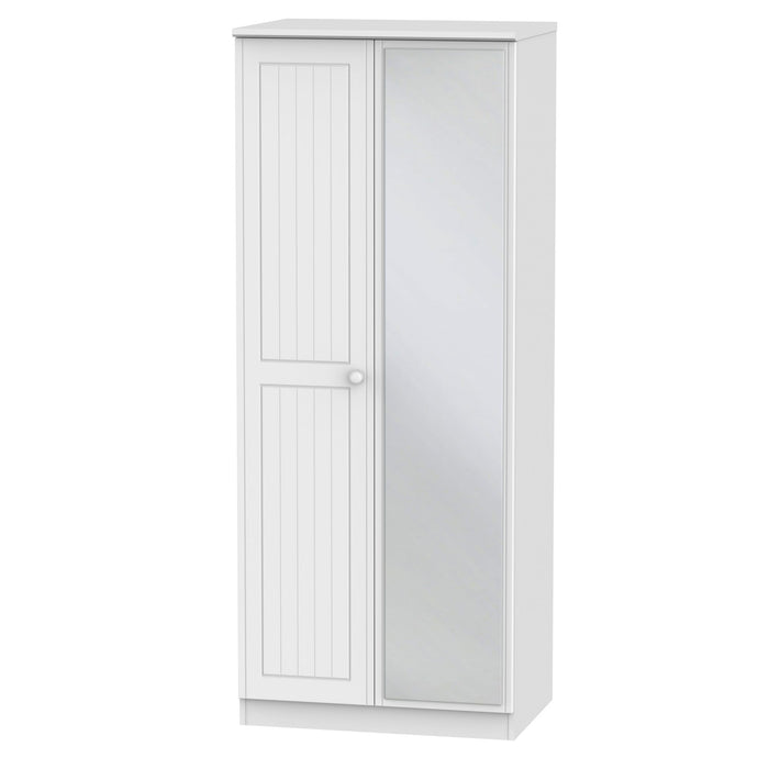Warwick Tall 2'6 Mirrored Robe - Clearance Factors