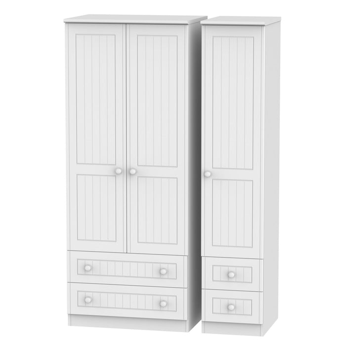 Warwick Triple 2 Drawer + Drawer Robe - Clearance Factors