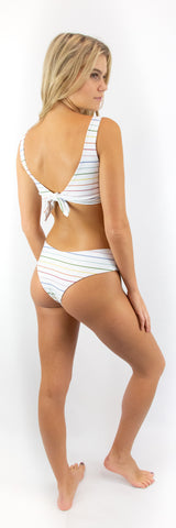 Eveline Bottom // Rainbow Stripe