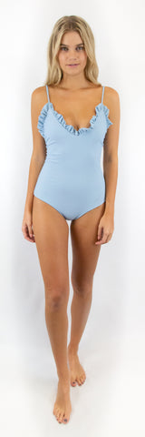 Cora One Piece // Moss (ribbed)