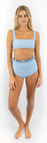 Alice Bottom // Powder Blue (ribbed)
