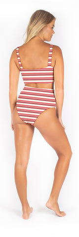Dakota Bottom // Spanish Stripe