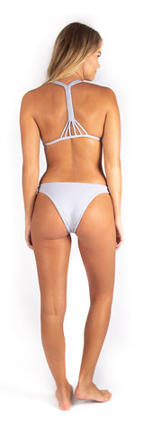 Eveline Bottom // Oat (ribbed)