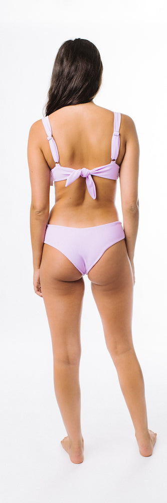 Lila Bottom // Lilac (ribbed)