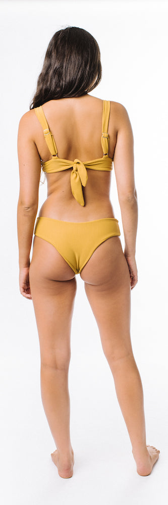 Lila Bottom // Mustard (ribbed) 💛 KCDT Collab