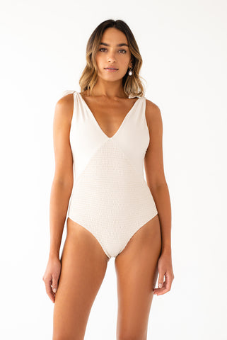 Rosalyn One Piece // Cream