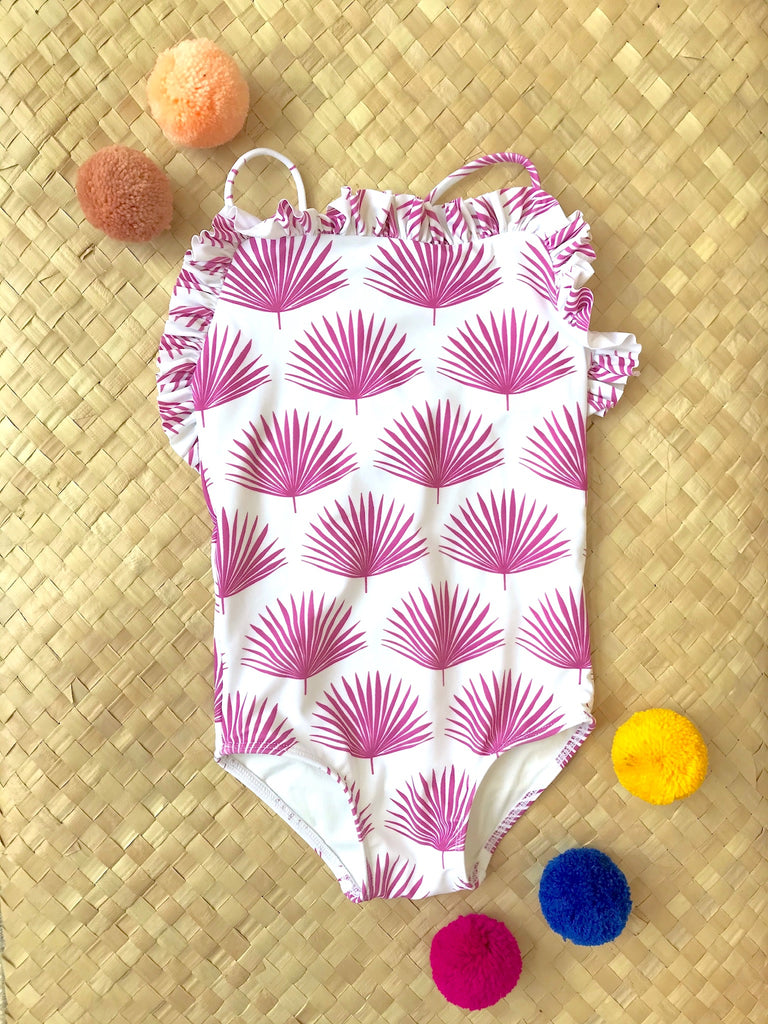 Ruthie One Piece // Pink Agave