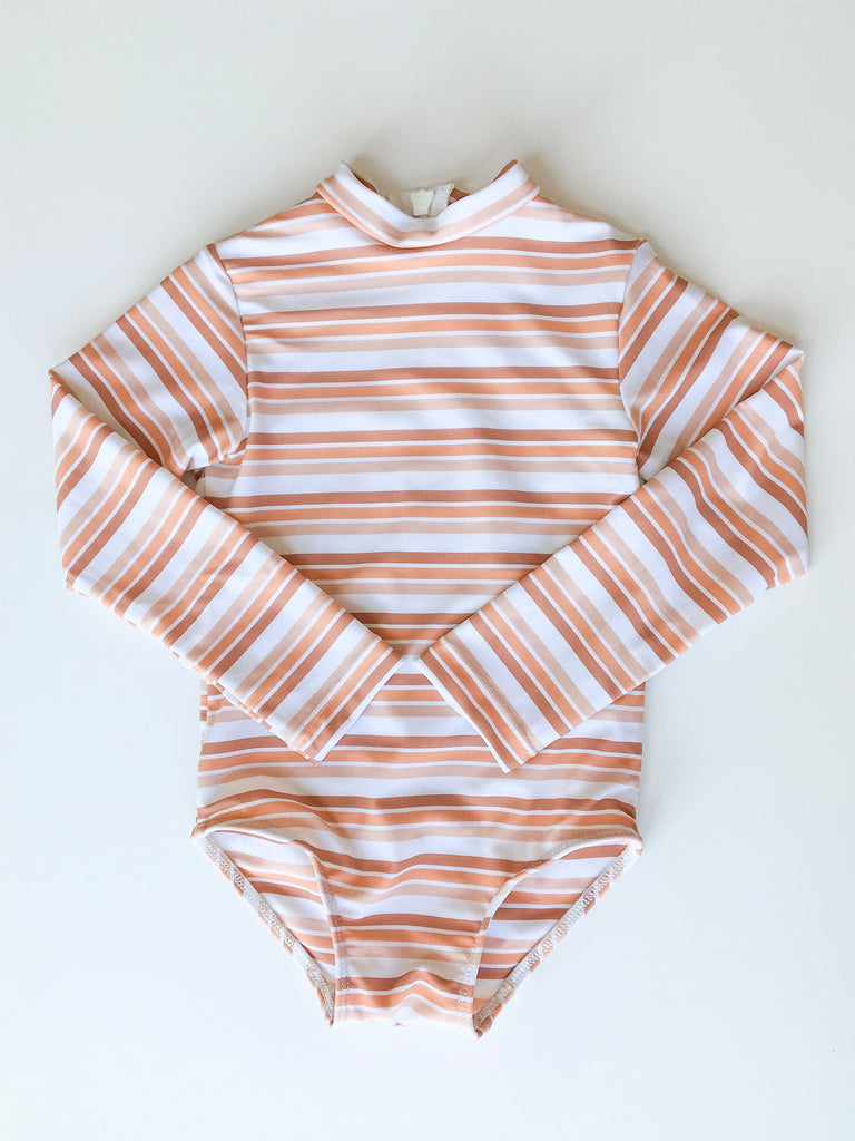 Riley One Piece // Spanish Stripe