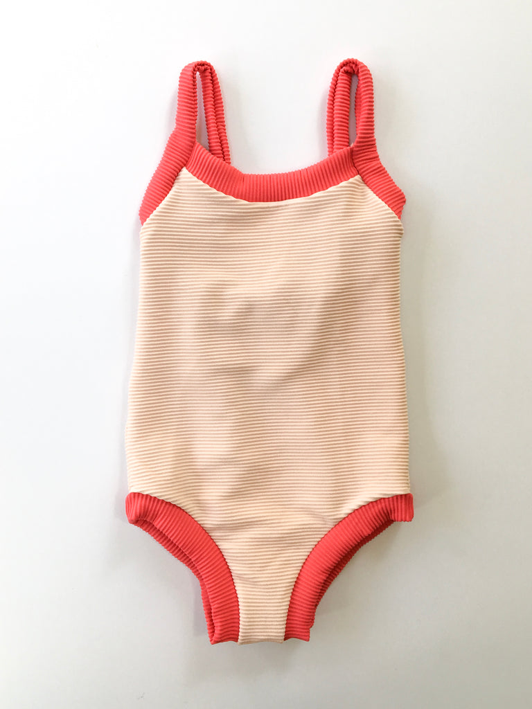 Nell One Piece // Shell (ribbed)