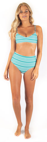 Eveline Bottom // Mint (ribbed)