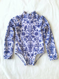 Riley One Piece // Lavender Otomi