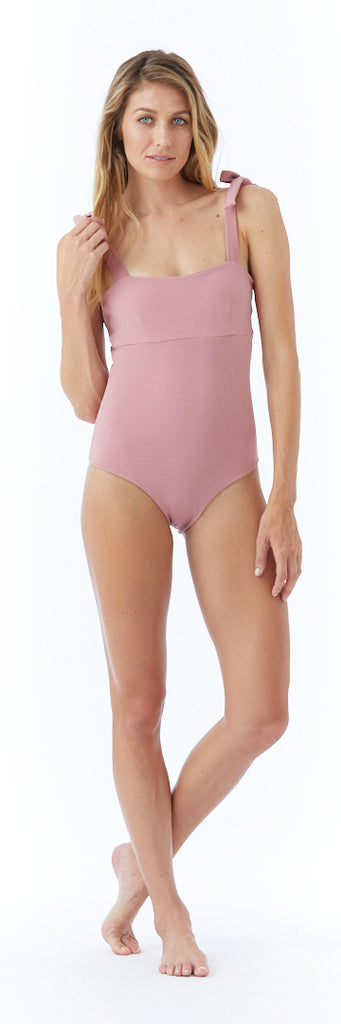 Indie One Piece // Dusty Rose (ribbed)