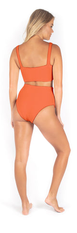 Sutton One Piece // Apricot