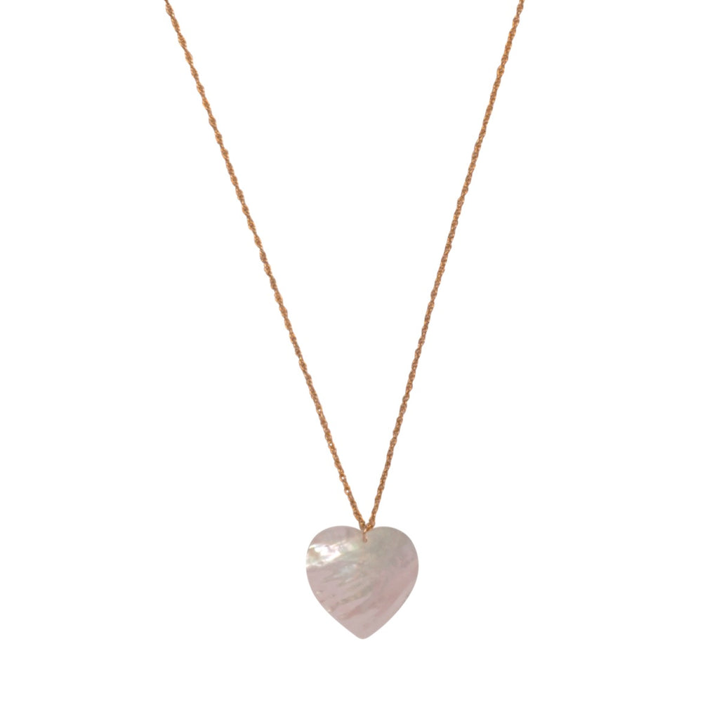 MOP Heart Necklace