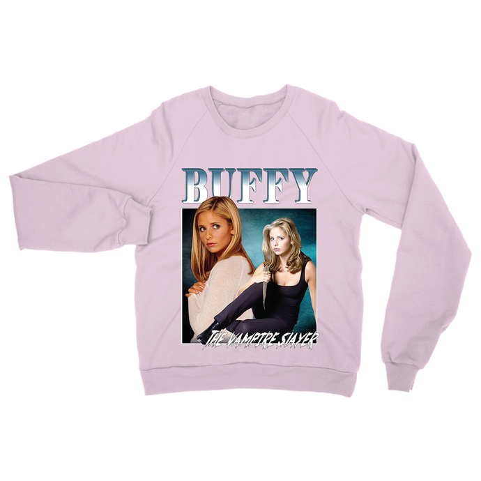 Buffy Sweatshirt - Navy / Purple / Pink