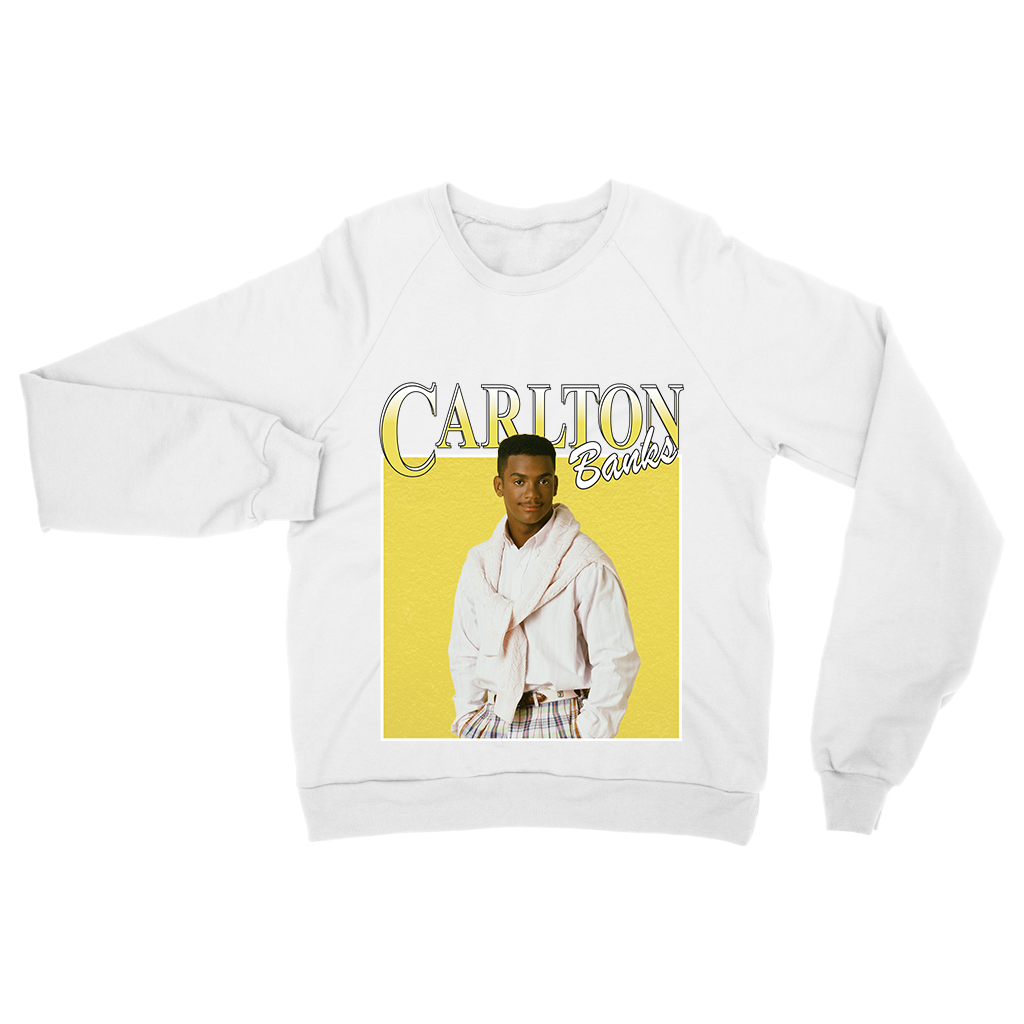 Carlton Sweat - Black / White