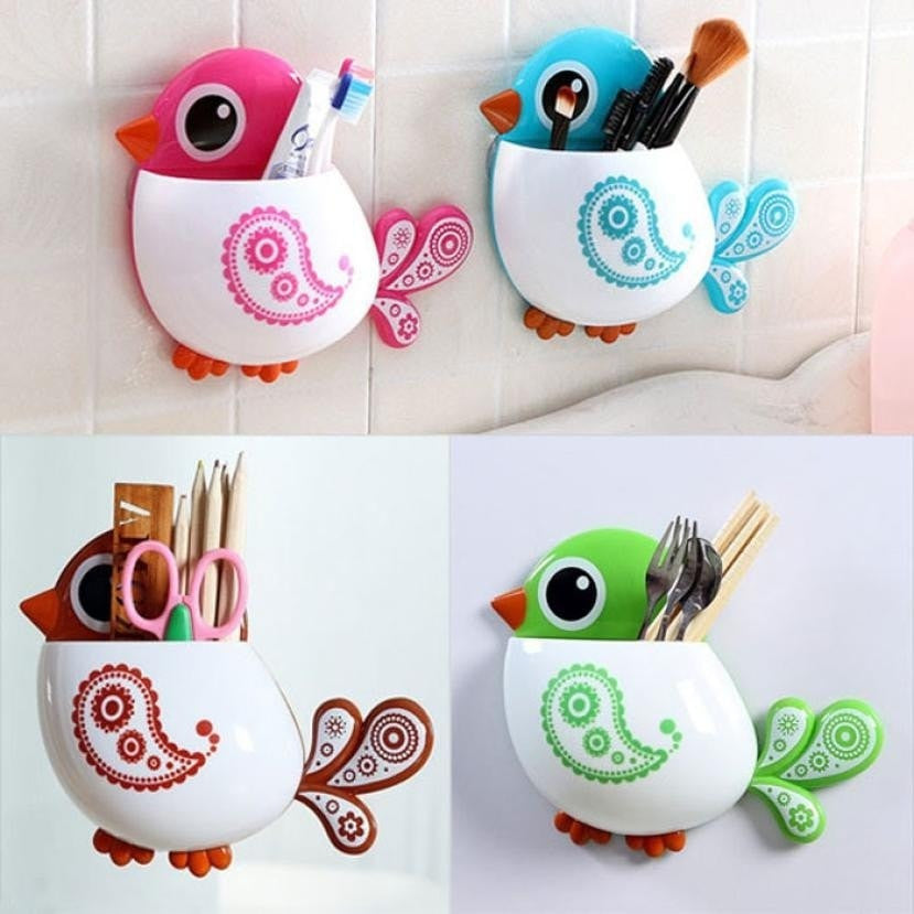 """Birdie"" Toothbrush Holder-Decorhomium"