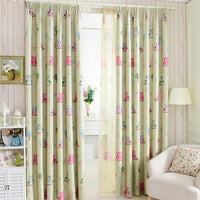 """Birds"" Curtains-Decorhomium"