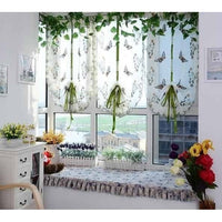 """Colored Butterflies"" Tulle.Curtain-Decorhomium"