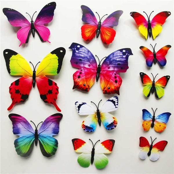 """Elegant Butterfly"" 3D Wall Stickers-Decorhomium"