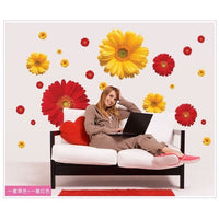 """Flowers"" Wall Sticker-Decorhomium"