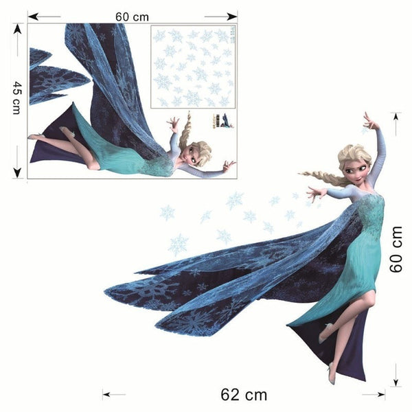 """Frozen"" Wall Stickers-Decorhomium"