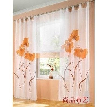 """Gorgeous Flower"" Curtain-Decorhomium"