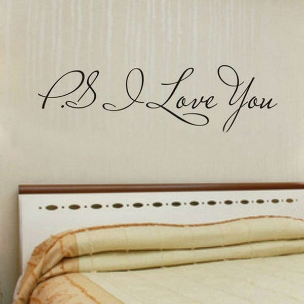 """I Love You"" Wall Sticker-Decorhomium"
